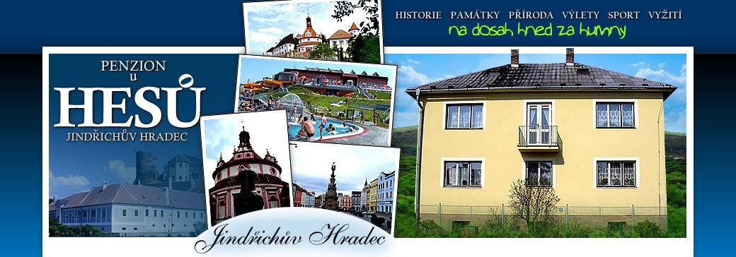 Levné ubytování jižní Čechy - Penzion u Hesů